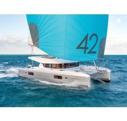 Lagoon 42 Karibik