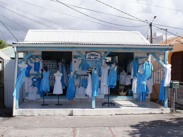 Guadeloupe Straßen Shop