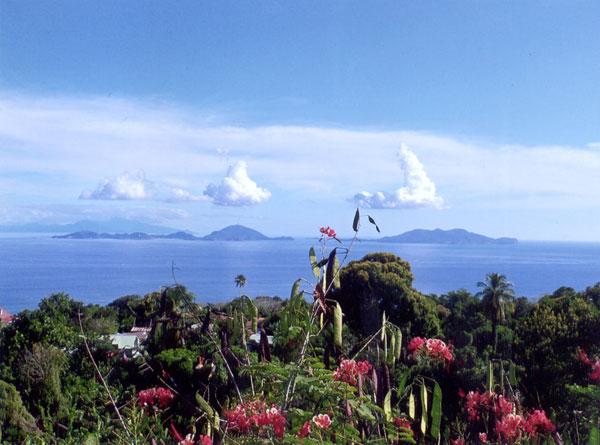 Guadeloupe Vulkanaussicht