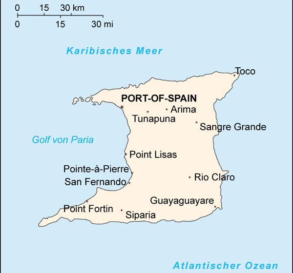 Trinidad Insel