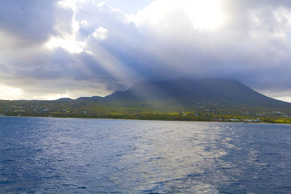 Westküste Nevis