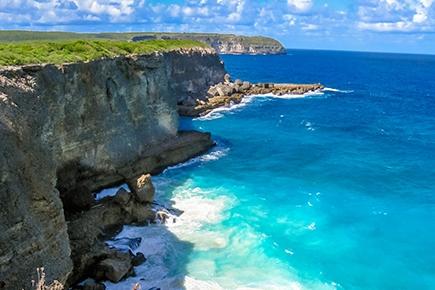Grande-Terre in Guadeloupe