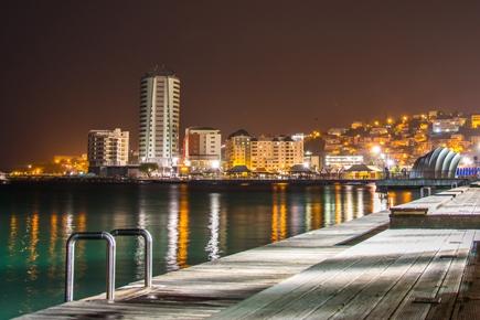 Martinique bei Nacht