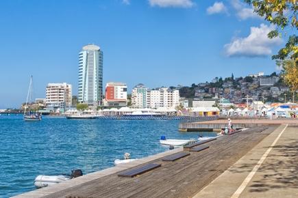 Stadt, Promenade von Martinique