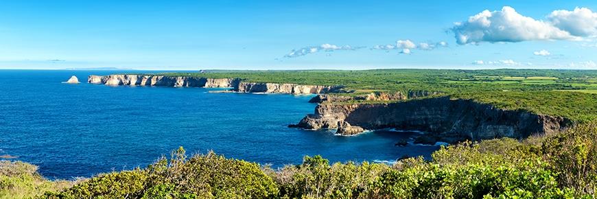 La grande vigie Cliffs Guadeloupe