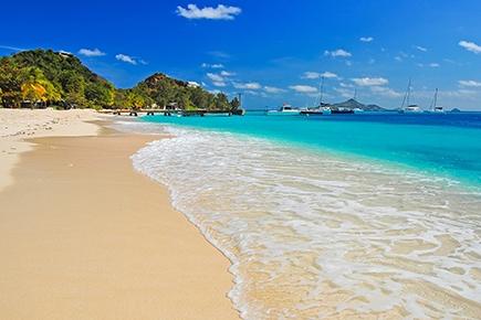 Strandpanorama von Grenada