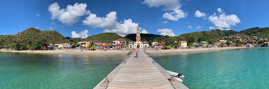Küste von Martinique