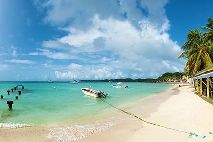 Saint Anne beach, Guadeloupe