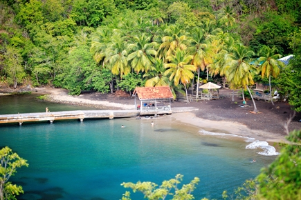 Sandy Beach Martinique
