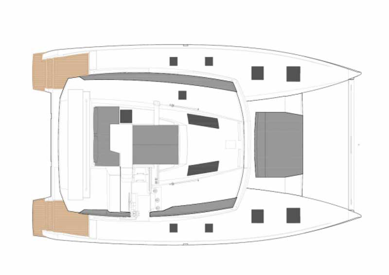 Fountaine Pajot Saona 47 Loungedecks